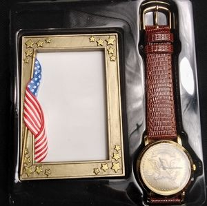 American Pride Watch Picture Frame Gift Set